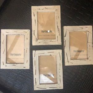 Set of 4 Pier 1 Imports Magnetic Frames